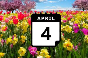 Urlaub im April - Vorschaubild
