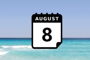 Urlaub im August - Vorschaubild