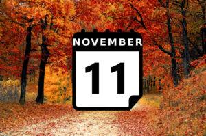 Urlaub im November - Vorschaubild