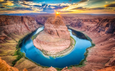 Horseshoe Bend Grand Canyon (ronnybas)  lizensiertes Stockfoto