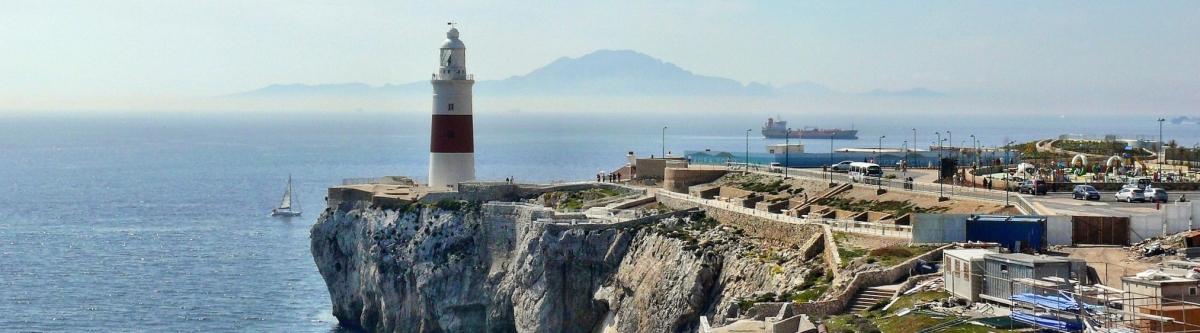 Karte Gibraltar Umgebung.Beste Reisezeit Gibraltar Wetter Klimatabelle Und Klimadiagramm