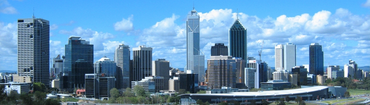 Perth Skyline (Mark Ireland)  [flickr.com]  CC BY  Infos zur Lizenz unter 'Bildquellennachweis'