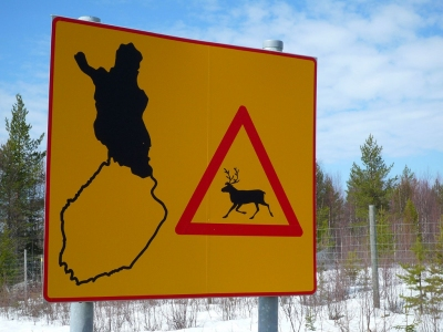 Beware of the Reindeer (Timo Newton-Syms)  CC BY-SA