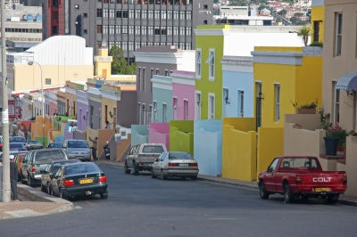 Bo-Kaap District (Malay Quarter) (Brian Snelson)  CC BY
