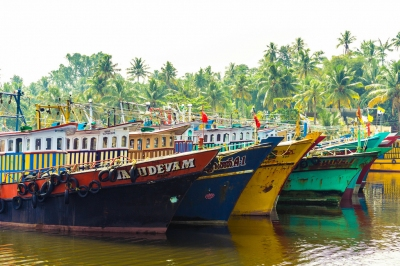 Colorful Fishing Trawlers (Thangaraj Kumaravel)  CC BY