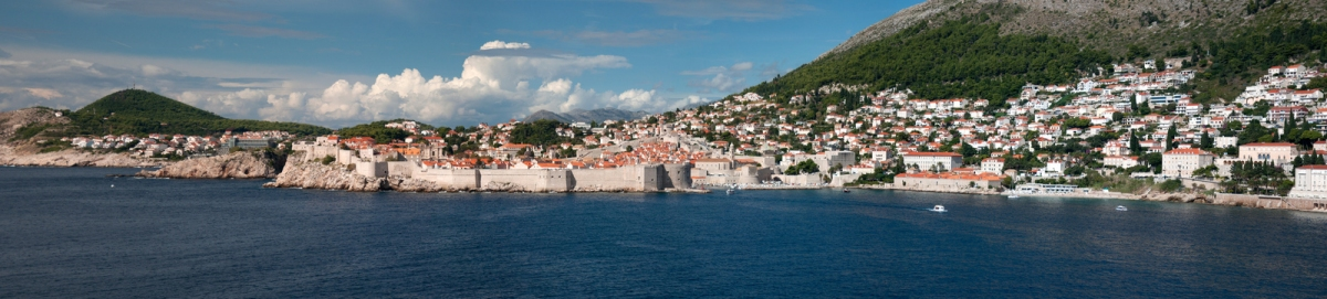Dubrovnik old city panorama (L.C. Nøttaasen)  CC BY