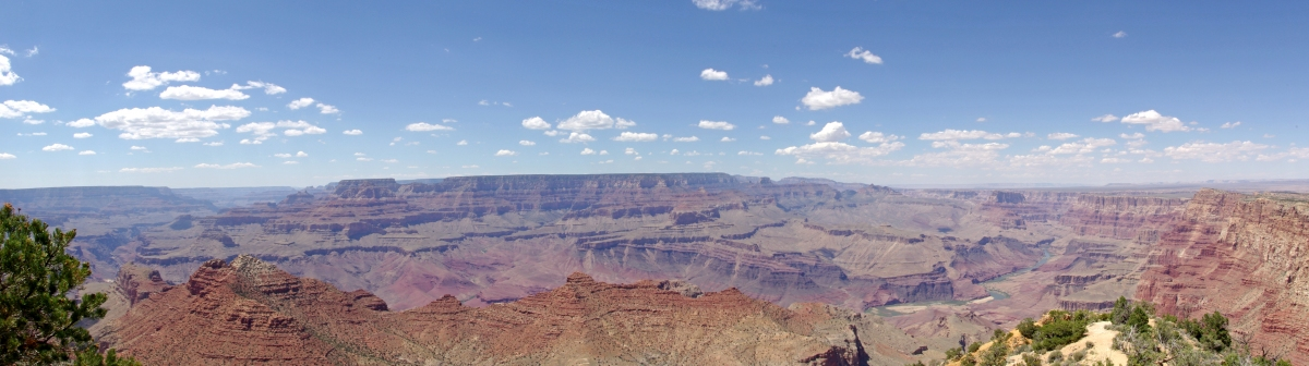 Grand Canyon Panorama (IvyMike)  [flickr.com]  CC BY  Infos zur Lizenz unter 'Bildquellennachweis'