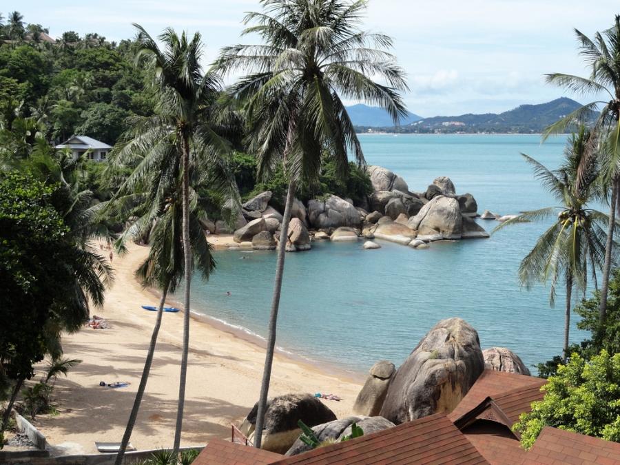 Beste Reisezeit Koh Samui Klimatabelle Und Klimadiagramm
