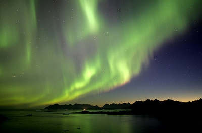 Northern Lights, Greenland (Nick Russill)  [flickr.com]  CC BY  Infos zur Lizenz unter 'Bildquellennachweis'