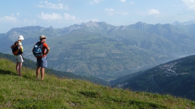 Overlooking the Tarentaise Valley (Jussarian)  CC BY-SA