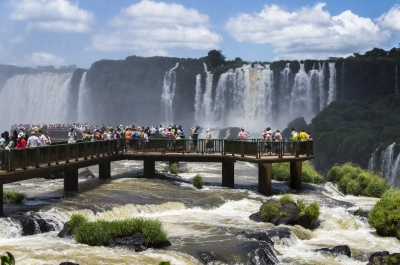 Parque Nacional do Iguaçú / Iguaçu National Park (Deni Williams)  [flickr.com]  CC BY  Infos zur Lizenz unter 'Bildquellennachweis'