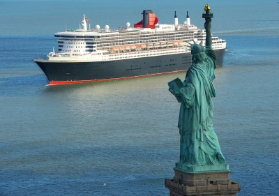 Queen Mary 2 New York (Roderick Eime)  CC BY