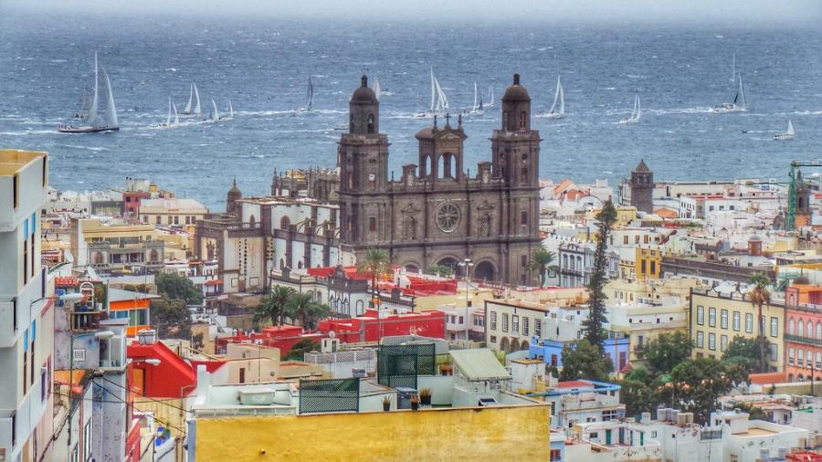 Beste reisezeit gran canaria klimatabelle und klimadiagramm - Apartamentos puerto rico las palmas ...