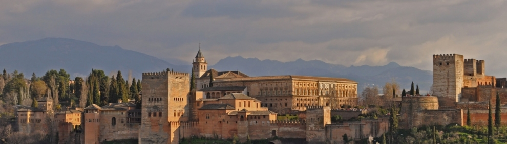 Spain - Andalucia - Granada - view of Alhambra (Harshil Shah)  [flickr.com]  CC BY-ND  Infos zur Lizenz unter 'Bildquellennachweis'