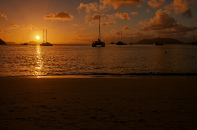 Sunset at Cane Garden Bay - British Virgin Islands (bvi4092)  CC BY