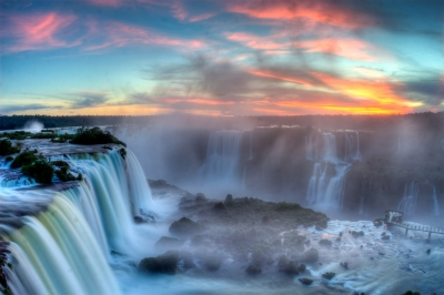 Sunset over Iguazu (SF Brit)  CC BY