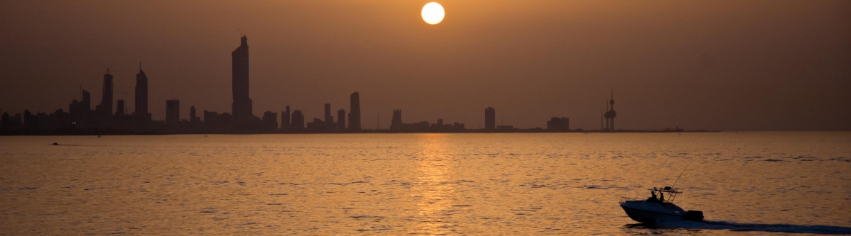 Sunset over Kuwait City (Jack Versloot)  CC BY