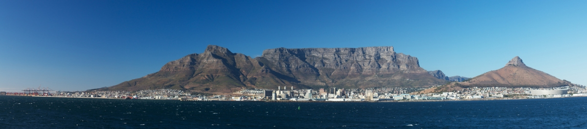 table mountain Panorama, Capetown (Brian Gratwicke)  [flickr.com]  CC BY  Infos zur Lizenz unter 'Bildquellennachweis'