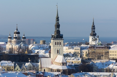 Tallinn covered with snow (Guillaume Speurt)  [flickr.com]  CC BY-SA  Infos zur Lizenz unter 'Bildquellennachweis'