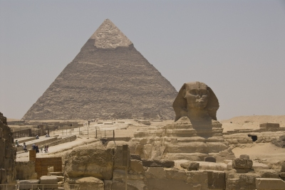 The Great Pyramid and Sphinx, Egypt (S J Pinkney)  [flickr.com]  CC BY  Infos zur Lizenz unter 'Bildquellennachweis'