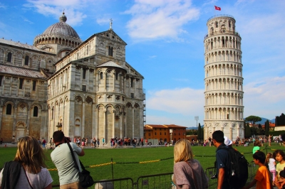 The Tower and the Duomo of Pisa (Justin Ennis)  CC BY