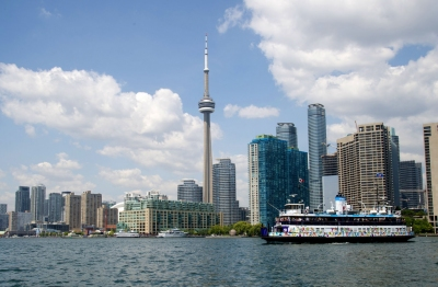 Toronto: Island Ferry (The City of Toronto)  [flickr.com]  CC BY  Infos zur Lizenz unter 'Bildquellennachweis'
