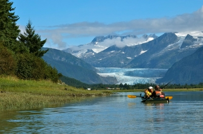 Toward Mendenhall Glacier (Joseph)  CC BY-SA