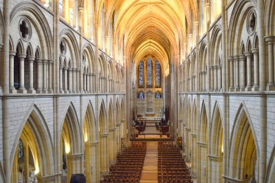Truro Cathedral, Cornwall (JackPeasePhotography)  CC BY