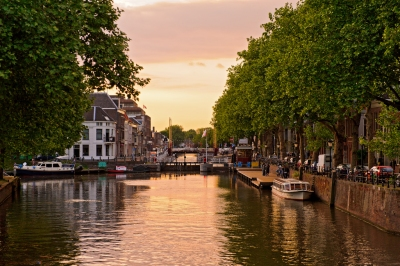 Utrecht sunset (Tambako The Jaguar)  CC BY-ND
