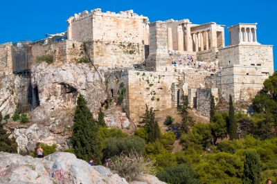 View of the Acropolis from Areopagus, Athens (Andy Hay)  [flickr.com]  CC BY  Infos zur Lizenz unter 'Bildquellennachweis'
